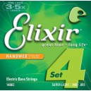 Jeu cordes Basse Elixir Nanoweb 14002 SL 40-95