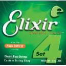 Jeu cordes basse Elixir Nanoweb 14077 M 45-105