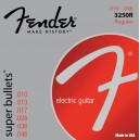 Jeu cordes Fender Super Bullets 10-46 3250R