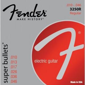 Jeu cordes Fender Super Bullets 10-46 3250R
