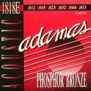 Jeu cordes Adamas 1818E Folk 12-53