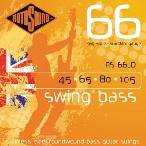 Jeu cordes Rotosound Basse RS66LD 45-105