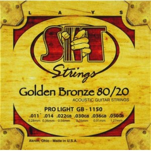 Jeu cordes SIT Golden bronze 80/20 GB1150 Pro light 11-50