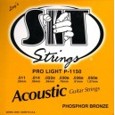 Jeu cordes SIT Phosphor bronze P1150 Pro light 11-50