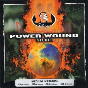 Jeu basse SIT Power wound  NR50105L  Medium  50-105