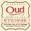Jeu cordes D'addario Oud J95