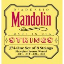 Jeu cordes D'addario Mandolin J74