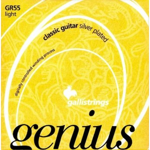 Jeu cordes Galli Genius GR55  Tension faible