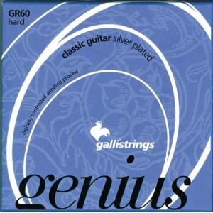 Jeu cordes Galli Genius GR60  Tension forte