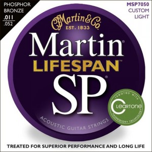 Jeu cordes Martin SP Lifespan MSP7050 Custom Light  11-52