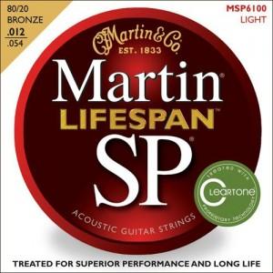 Jeu cordes Martin SP Lifespan MSP6100 Light   12-54