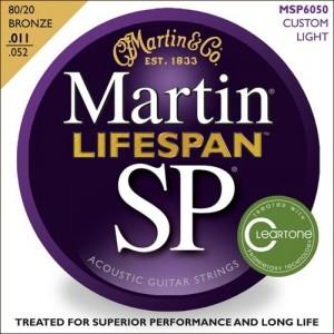 Jeu cordes Martin SP Lifespan MSP6050   Custom Light 11-52