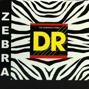 Jeu cordes DR strings ZAE10 Zebra Lite 10-48