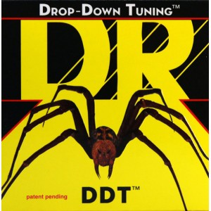 Jeu cordes DR strings DDT13  Drop down Mega heavy 13-65