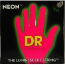 Jeu cordes DR strings NPE10 NEON  Hi Def Pink 10-46