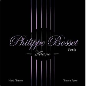 Jeu Cordes Philippe Bosset guitare classique Titane Tension Forte