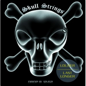 Jeu cordes Skull Strings Drop B 12-62