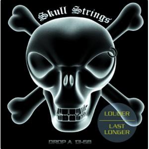 Jeu cordes Skull Strings Drop A 13-68