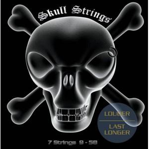 Jeu cordes Skull Strings 7 strings 9-58
