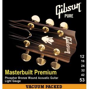 Jeu cordes Gibson Masterbuilt Premium 12-53