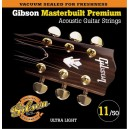 Jeu cordes Gibson Masterbuilt Premium 11-52