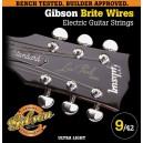 Jeu cordes Gibson Brite Wires 9-42