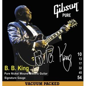 Jeu cordes Gibson B.B. King 10-54