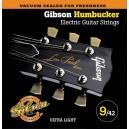 Jeu cordes Gibson Humbucker 9-42