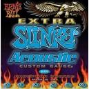 Jeu cordes Ernie Ball Acoustic Extra Slinky 10-50
