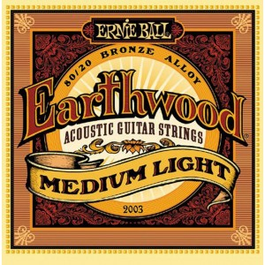 Jeu cordes Ernie Ball Earthwood 12-54