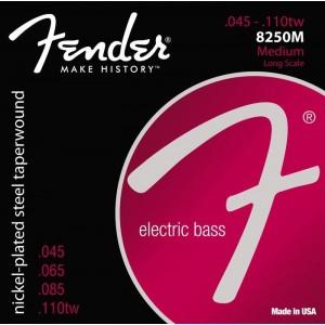 Jeu cordes Fender Basse 8250M 45-110