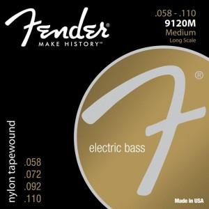 Jeu cordes Fender Basse 9120M 58-110