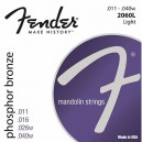 Jeu cordes Fender Mandolin Light 2060L