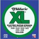 Jeu cordes D'addario EXL130  8-38