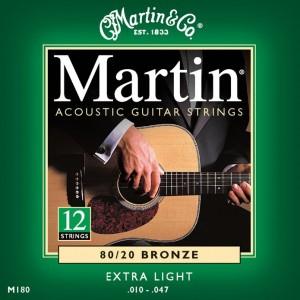Jeu 12 cordes Martin M180  10-47