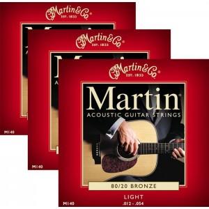 Jeu cordes Martin M140-3 Pack  12-54